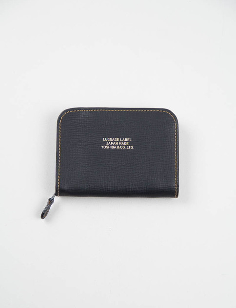 Black Luggage Label Officer Wallet