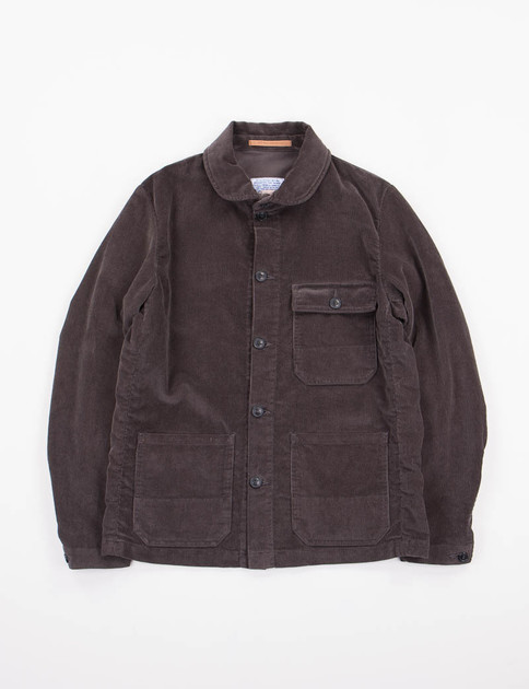 Grey Corduroy Officina Jacket SPECIAL