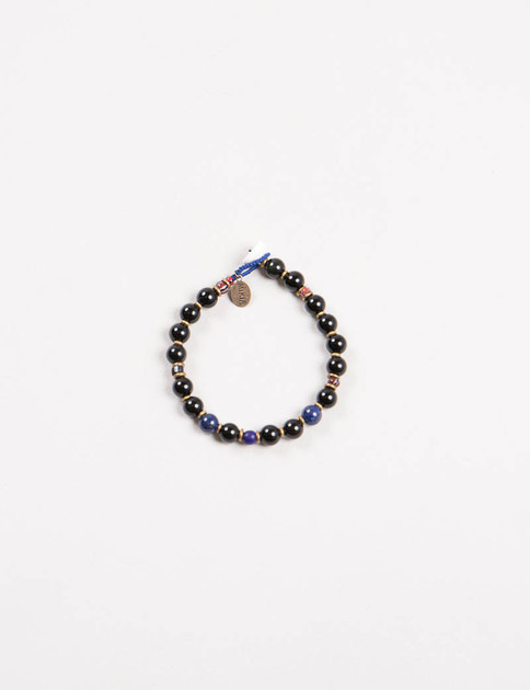 Mikia X United Arrows Obsidian Bracelet