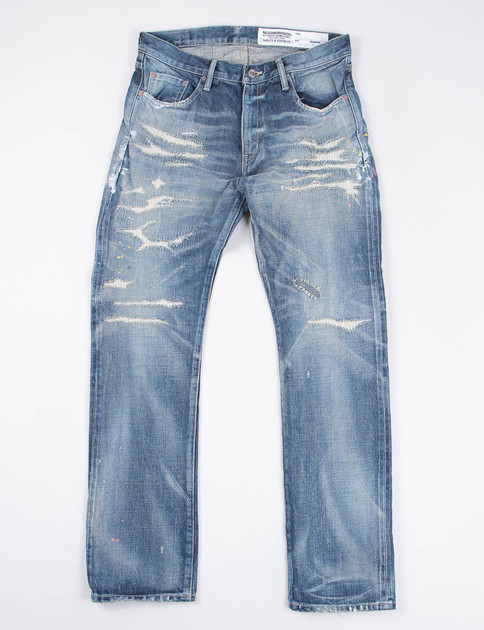 Indigo Knockdown Savage DP–Mid Jean