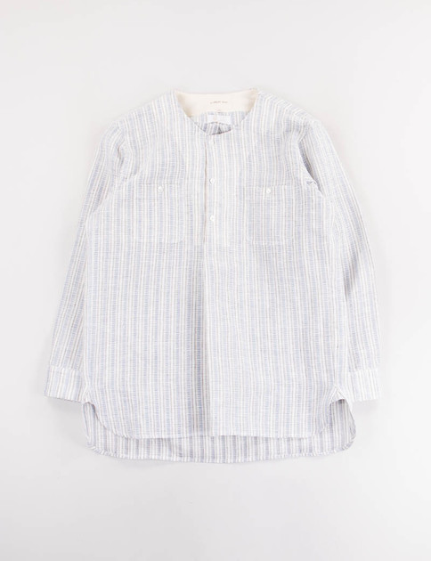 Blue Stripe Two Pocket Shirt