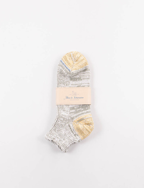 Army Melange 274 Organic Cotton Sneaker Socks