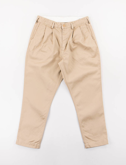 Khaki Chino Billy Jean Pant