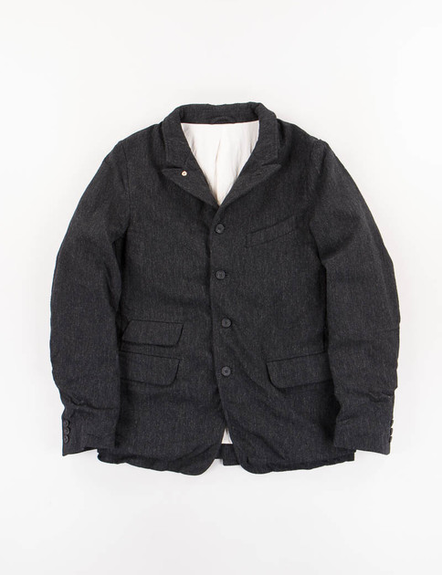 Charcoal Wool Old Potter Jacket