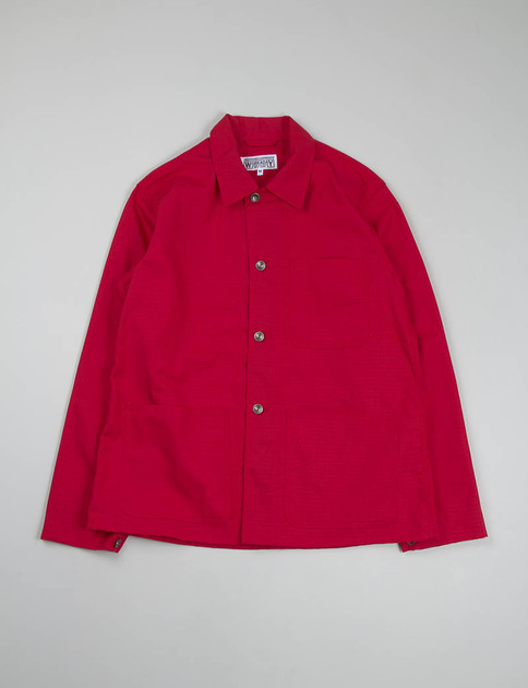 Red Ripstop Utility Jacket Special
