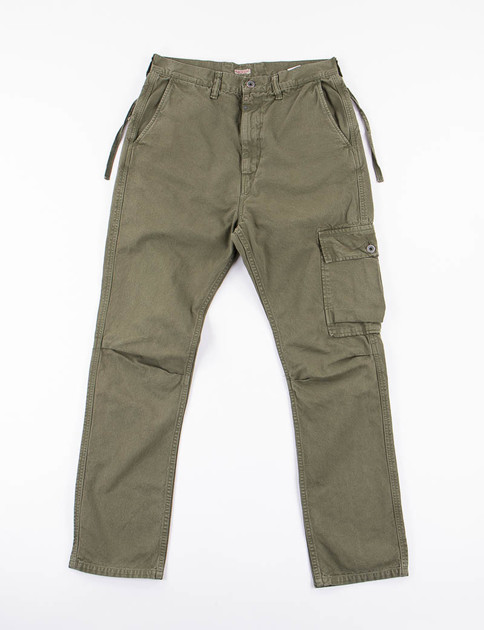 Olive Light Canvas Ringo Man Cargo Pant