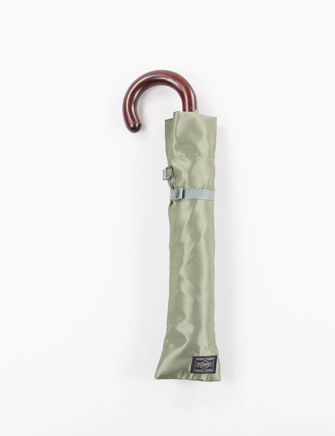 Khaki Folding Umbrella