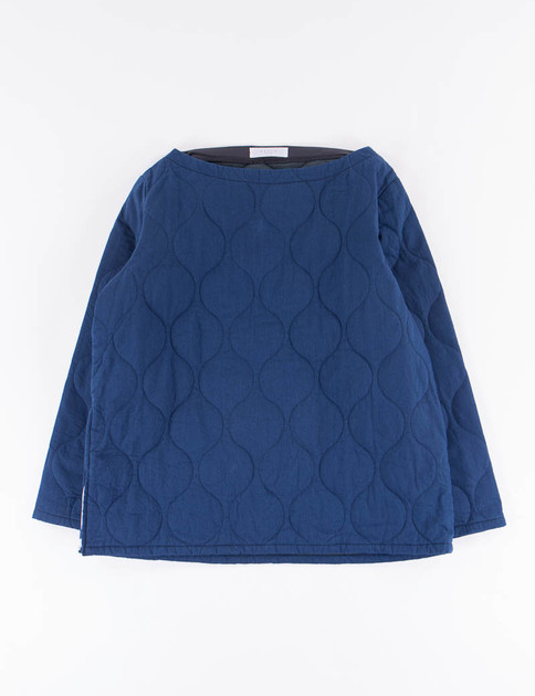 Indigo Quilted Smock