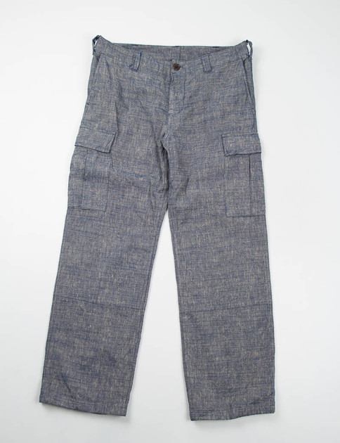 Blue 6 Pocket Pants