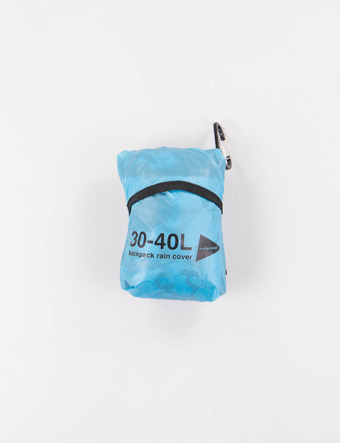 Blue Sil Cover Bag
