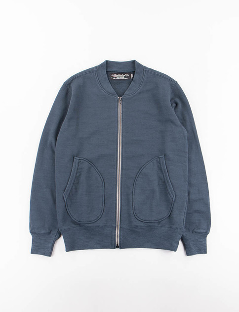 Neighborhood Navy Jersey TK C–Zip Cardigan