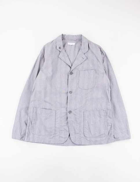 Grey Glen Plaid Typewriter Loiter Jacket