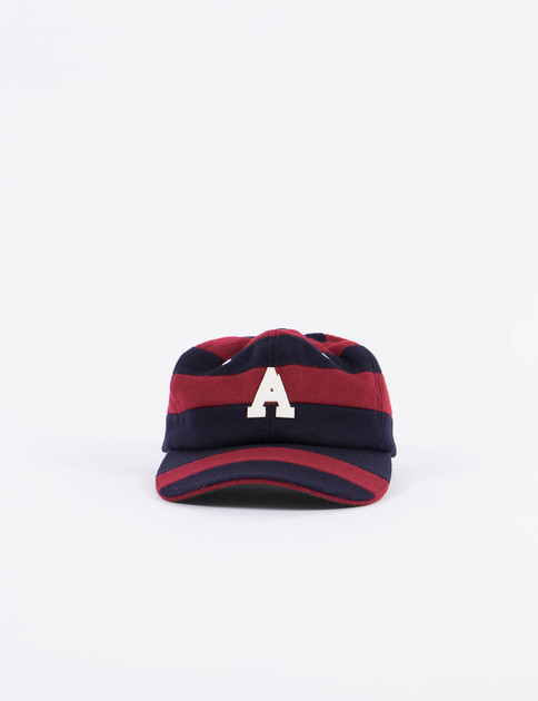 Navy/Wine Cricket Hat