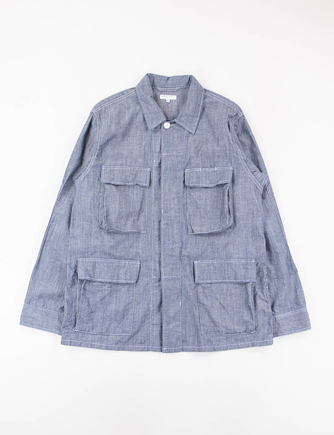 Blue Cone Chambray BDU Jacket