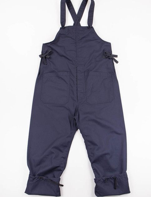 Dark Navy 7oz Cotton Twill Overalls