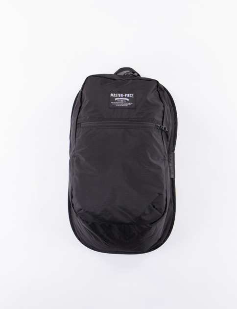 Black Pop N Pack Backpack