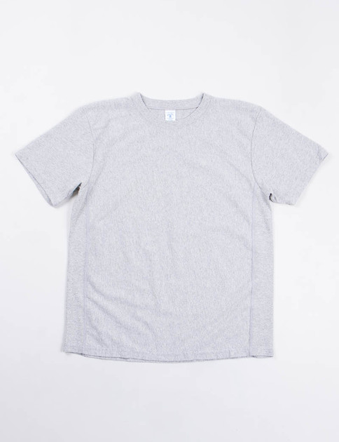 Heather Grey Reverse Weave Tee