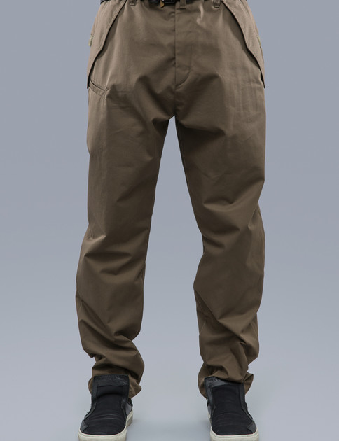 P24–S RAF Green HD Gabardine Articulated Trouser