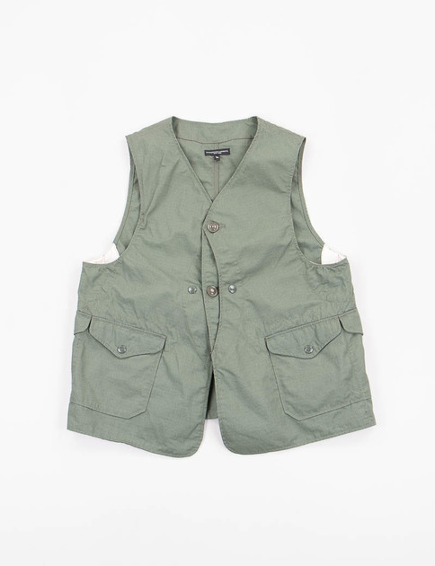 Olive Nyco Ripstop Upland Vest