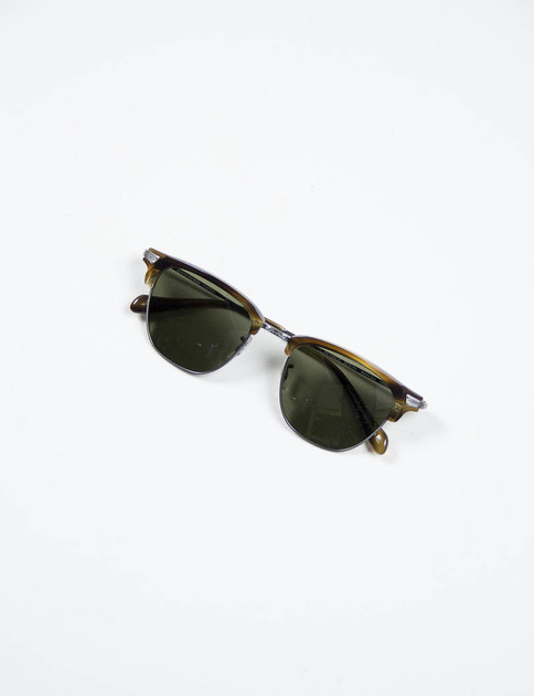 Pewter/Moss Tortoise Banks Sunglasses
