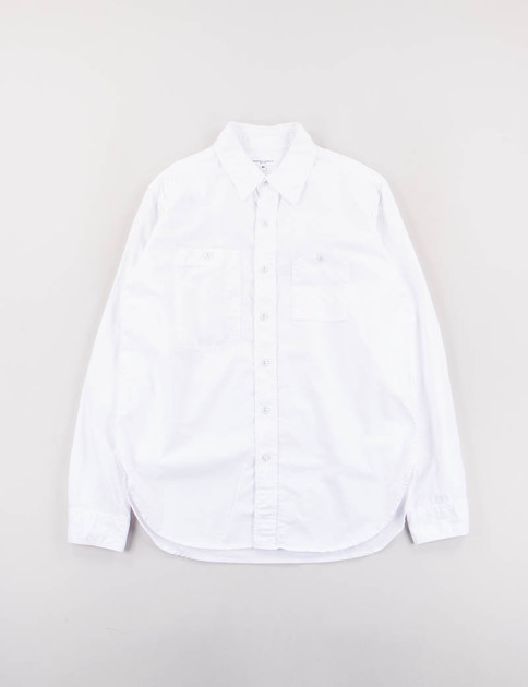 White Cotton Kona Work Shirt