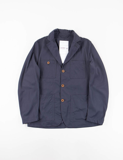 Blue Batavia Nylon Follina Jacket