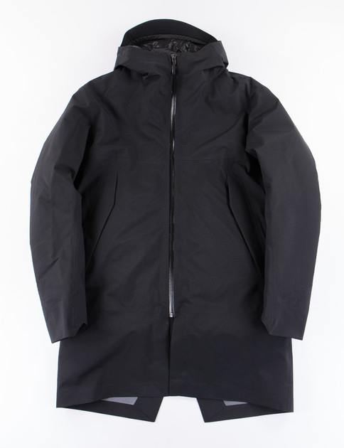 Black Monitor Down Coat