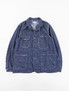 Indigo 8oz Cone Denim Coverall Jacket