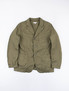 Olive 7oz Cotton Twill Bedford Jacket
