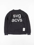 Black SVG C–Crew Sweatshirt