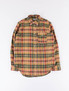 Khaki/Red/Green Twill Plaid BD Shirt