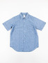 Blue Luxsic Chambray Ellas S/S Shirt