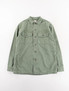Used Green Reversed Sateen US Army Shirt